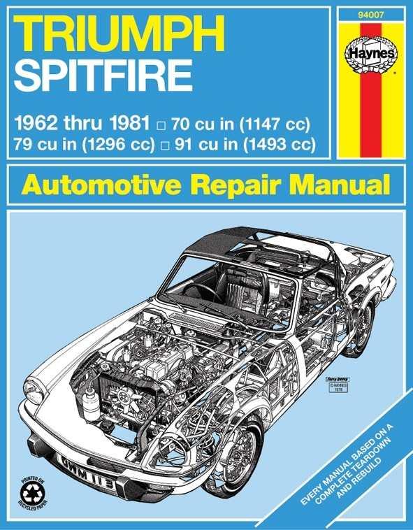 HAYNES - Repair Manual - HAN 94007