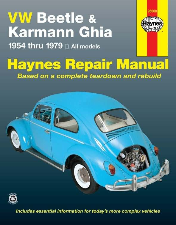HAYNES - Repair Manual - HAN 96008