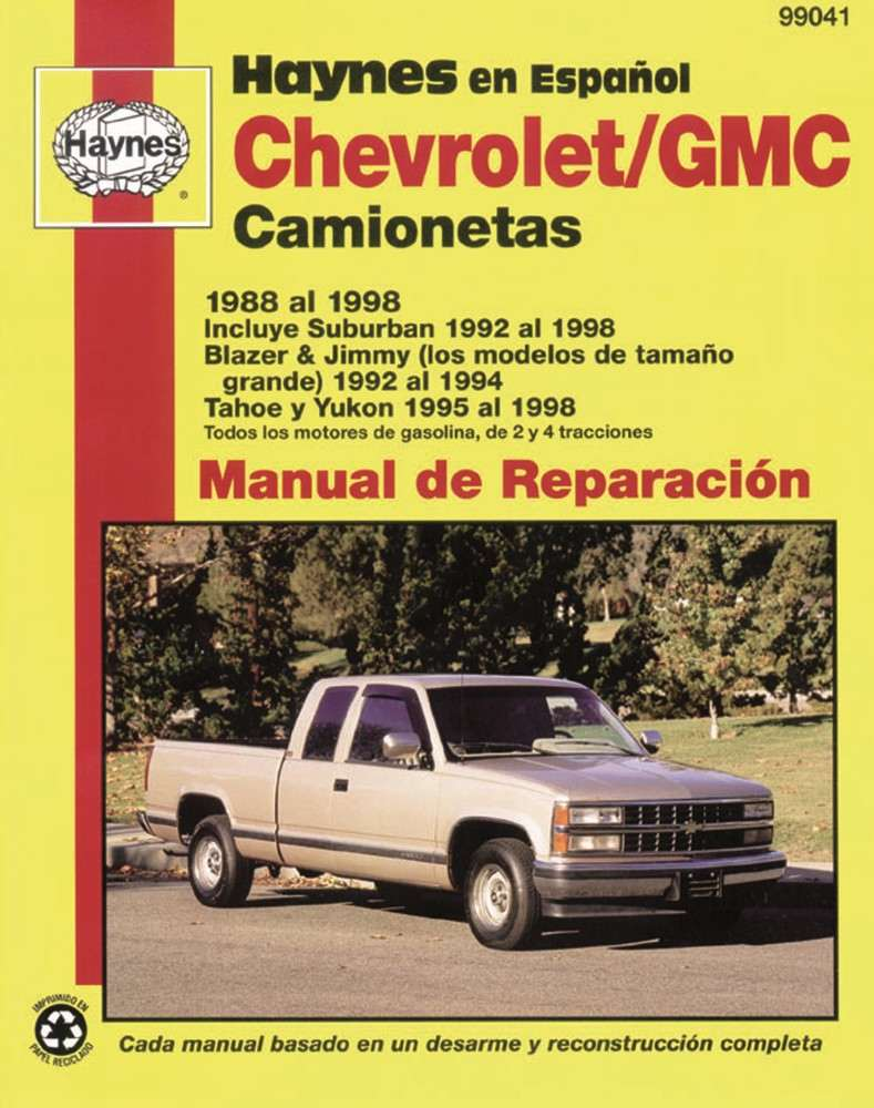 HAYNES - Repair Manual - HAN 99041