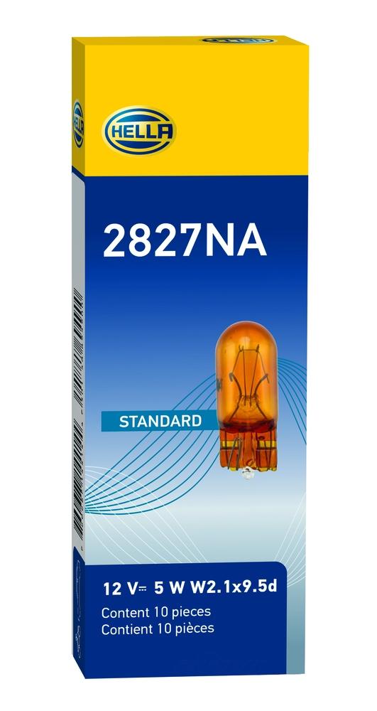 HELLA - Hella Side Marker Light Bulb - HLA 2827NA