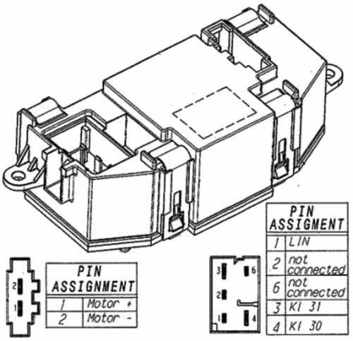 HELLA - Behr Hella Service HVAC Blower Motor Regulator - HLA 351321521