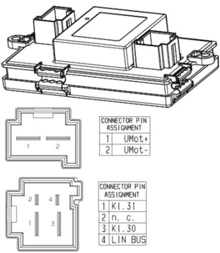 HELLA - Behr Hella Service HVAC Blower Motor Regulator - HLA 351321541