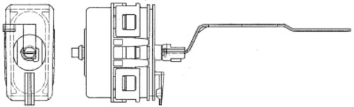 HELLA - Behr Hella Service A/C Vacuum Actuator - HLA 351329711