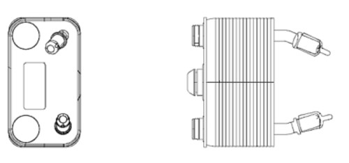 HELLA - Behr Hella Service Auto Trans Oil Cooler Assembly - HLA 376778191