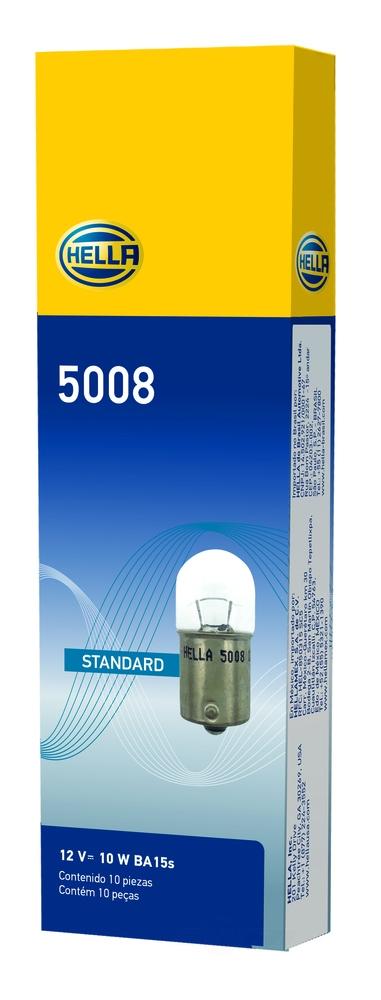 HELLA - Hella Turn Signal Light Bulb - HLA 5008