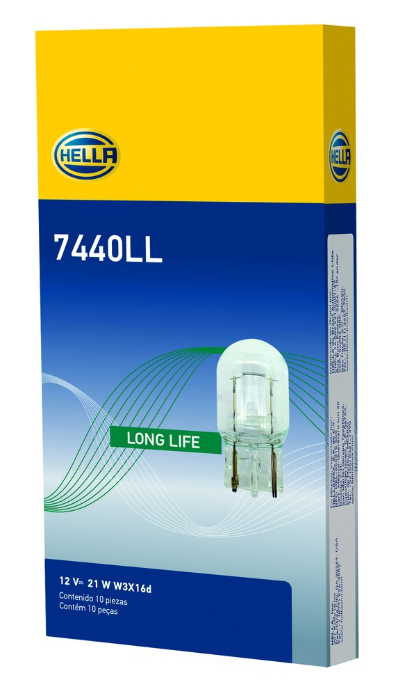 HELLA - Hella Back Up Light Bulb - HLA 7440LL