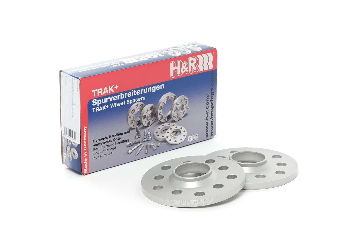 H&R SPECIAL SPRINGS - Trak  Wheel Spacers(two) - HR1 1045650