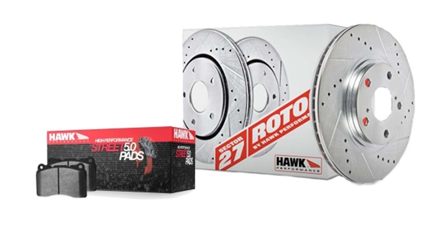 HAWK PERFORMANCE - Sector 27 Brake Kits (Rear) - HWK HK4171.250B