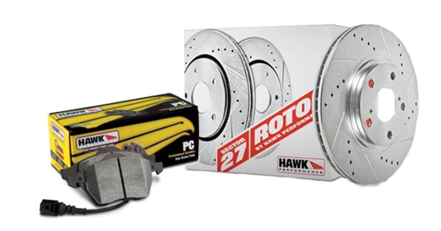 HAWK PERFORMANCE - Sector 27 Brake Kits (Rear) - HWK HK4280.478Z