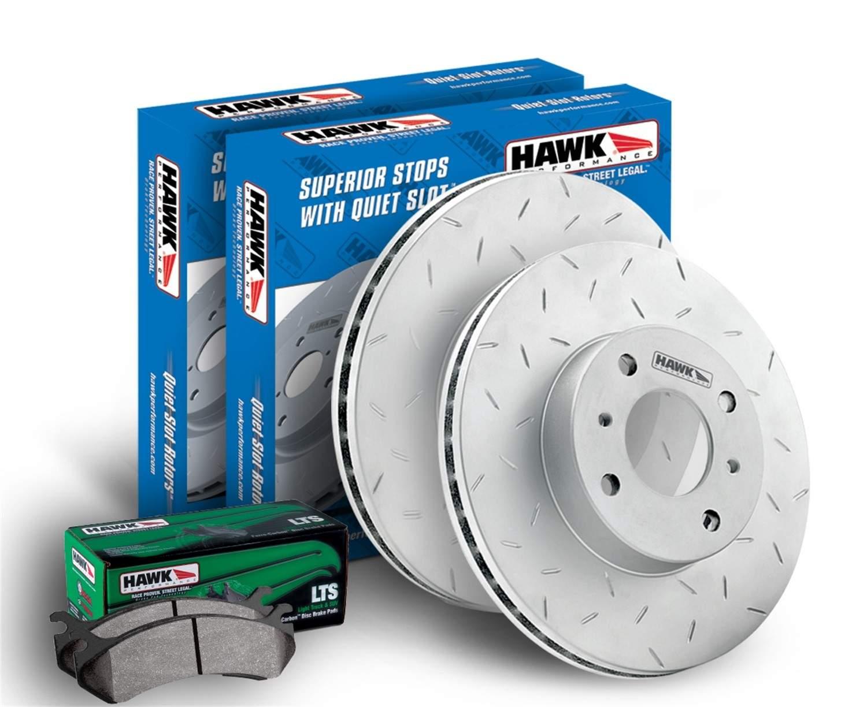 HAWK PERFORMANCE - LTS Disc Brake Pad & Rotor Kit (Front) - HWK HKY8657561