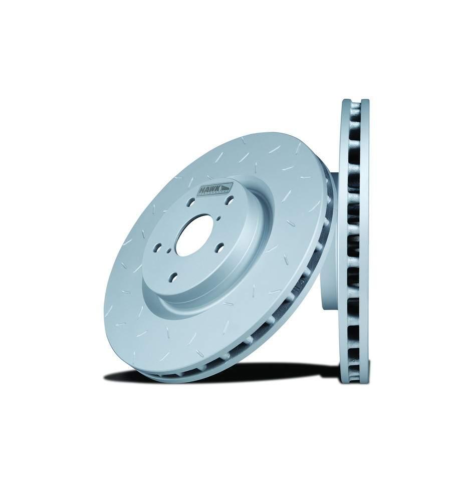 HAWK PERFORMANCE - Quiet Slot Disc Brake Rotor (Rear) - HWK HUS308
