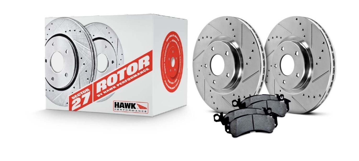 HAWK PERFORMANCE - Sector 27 Brake Kits (Rear) - HWK HK5211.212Z