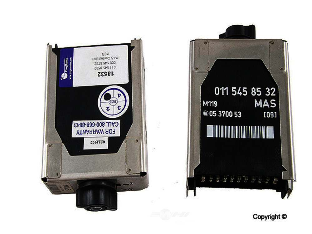 Programa -  MAS Control Unit MAS Control Unit - WDX 851 33043 696