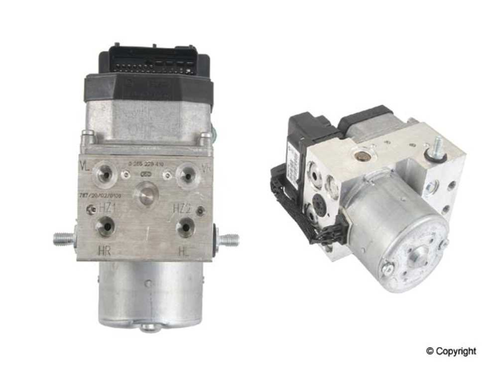WD EXPRESS - Bosch ABS Pump and Motor Assembly - WDX 550 54004 101