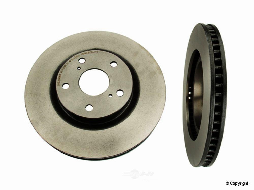 Brembo -  Disc Brake Rotor (Front) - WDX 405 51128 253