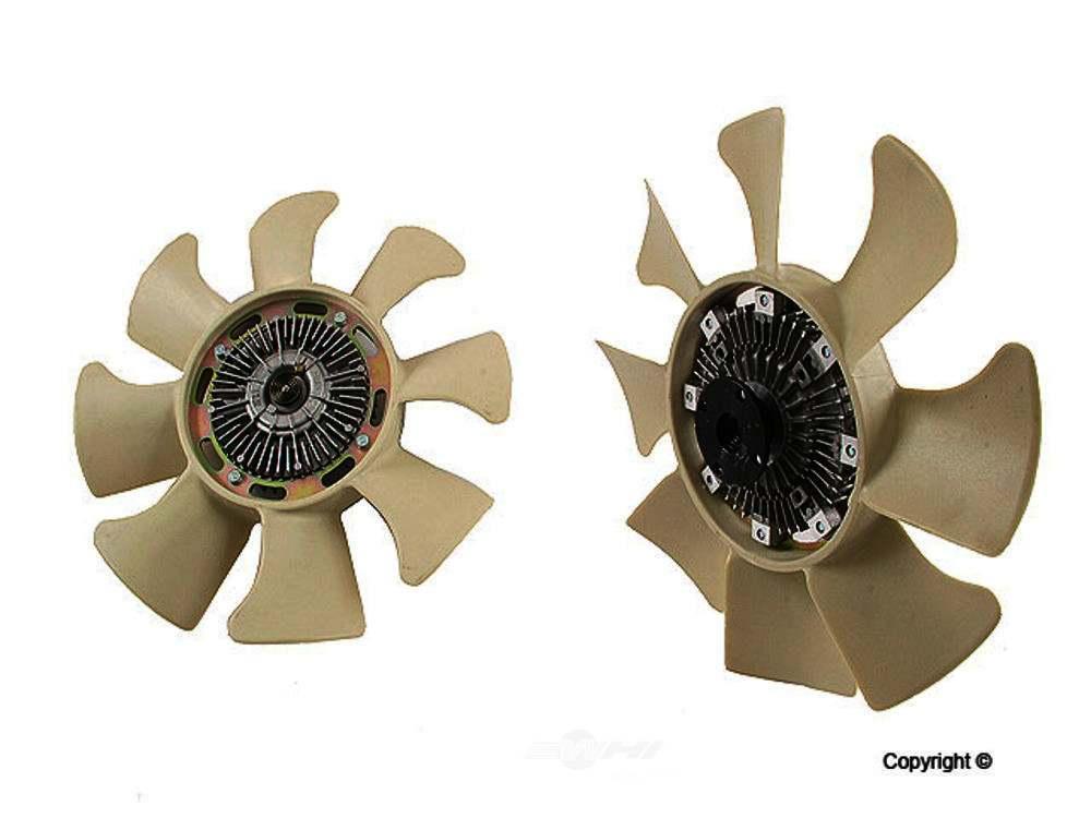 GMB -  Engine Cooling Fan Clutch Engine Cooling Fan Clutch - WDX 114 28001 630