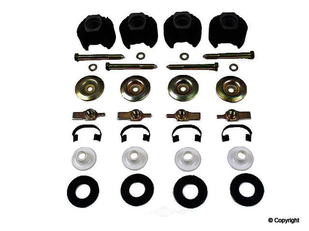 Febi -  Suspension Subframe Mounting Kit Suspension Subframe Mounting Kit - WDX 230 33024 280