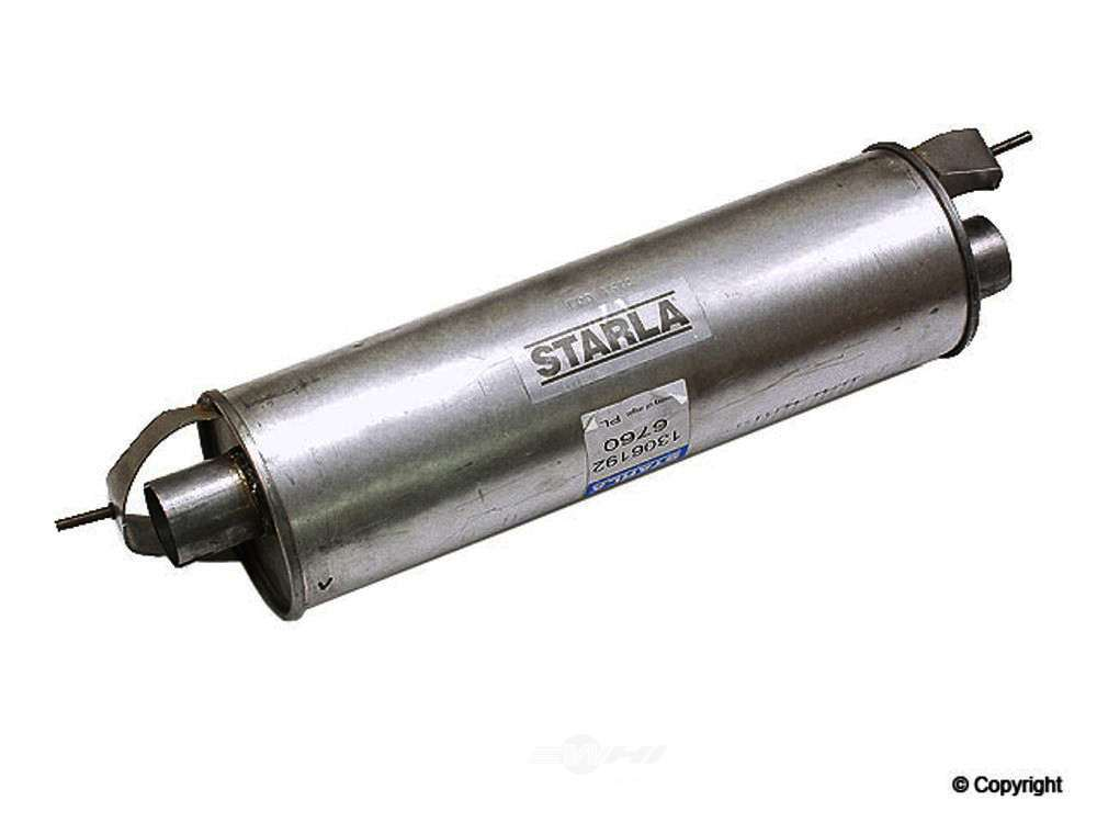 Starla -  Exhaust Muffler Exhaust Muffler - WDX 251 53003 367
