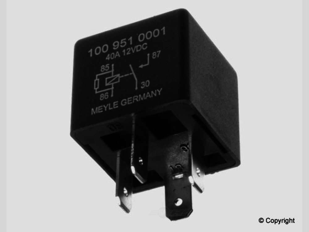 Meyle -  Windshield Wiper Motor Relay - WDX 835 43030 500
