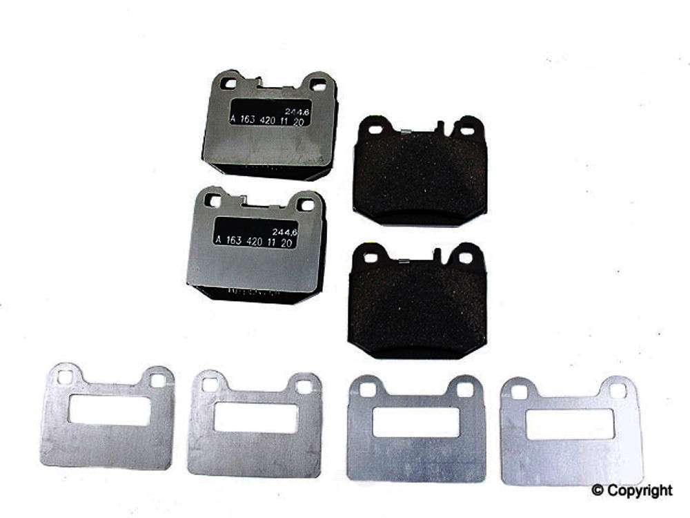Genuine -  Disc Brake Pad Set - WDX 520 08740 001