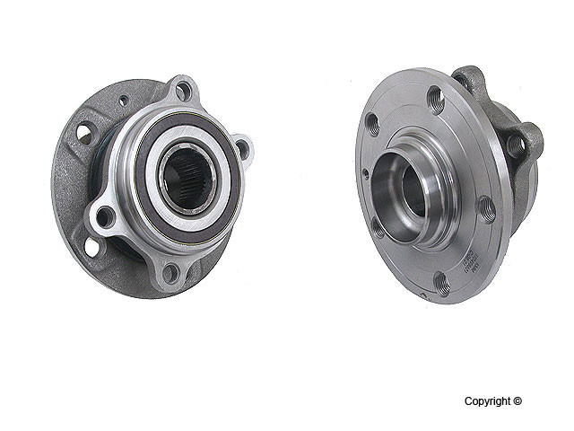 KMM - KMM Axle Bearing & Hub Assembly - WDX 397 54021 658
