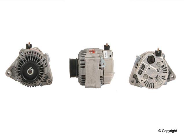 Denso Reman - Denso Remanufactured Alternator - WDX 701 21033 123