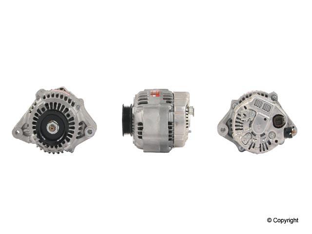 Denso Reman - Denso Remanufactured Alternator - WDX 701 01010 123