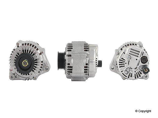 Denso Reman - Denso Remanufactured Alternator - WDX 701 01026 123