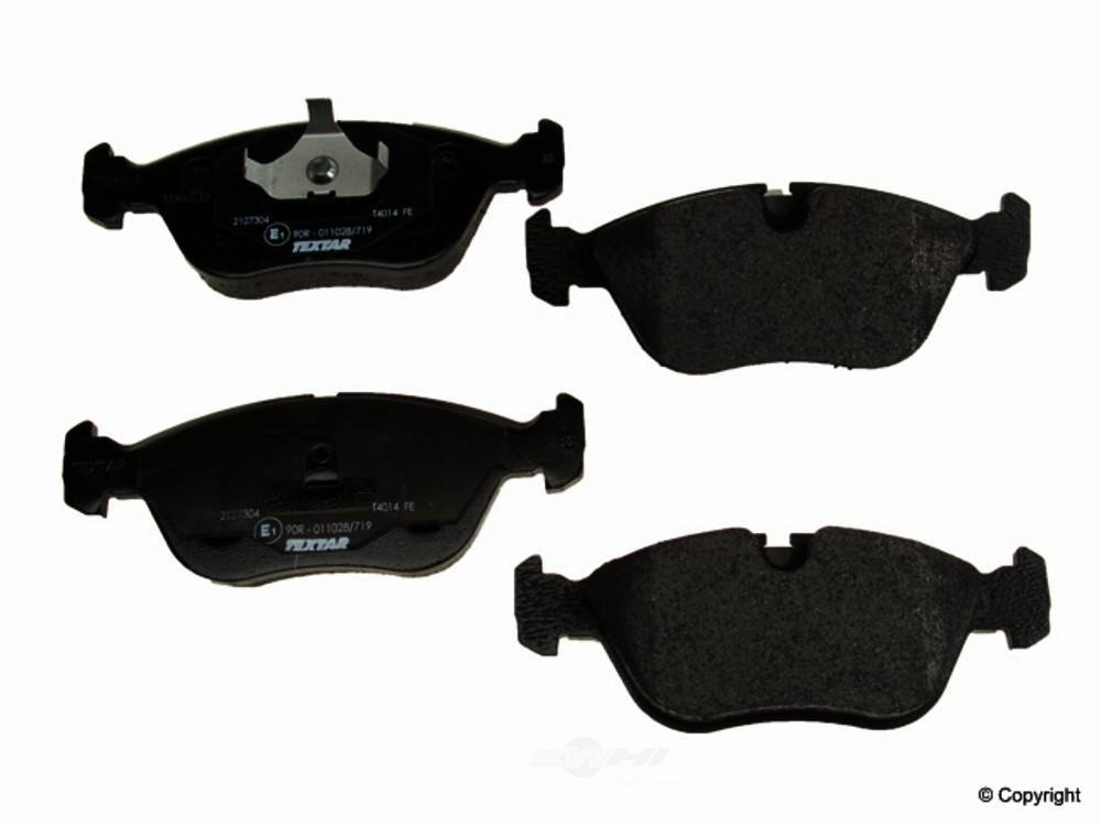 Textar -  Disc Brake Pad Set (Front) - WDX 520 06180 375