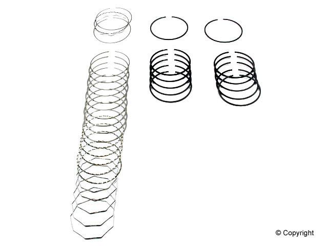 Deves - Deves Engine Piston Ring Set - WDX 061 33037 599