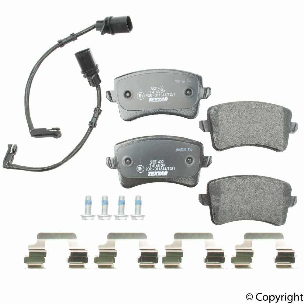 Textar - Textar Disc Brake Pad Set (Rear) - IMM 25214 02