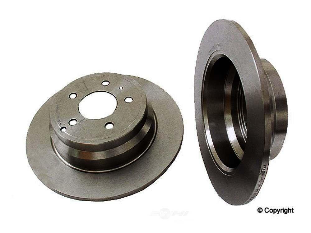 Ate -  Disc Brake Rotor (Rear) - WDX 405 53014 237