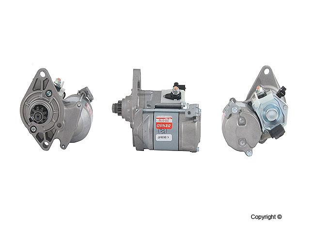 Denso Reman - Denso Remanufactured Starter Motor - WDX 703 01012 123