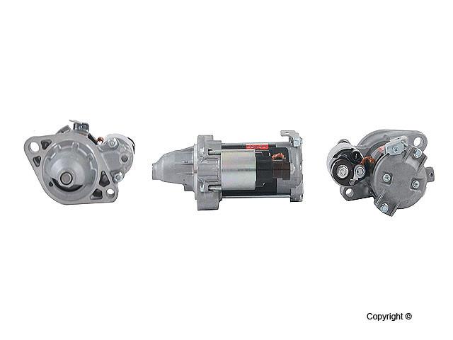 Denso Reman - Denso Remanufactured Starter Motor - WDX 703 01016 123