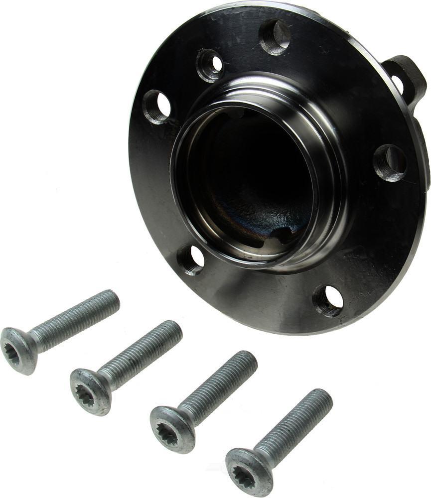 Meyle -  Axle Bearing and Hub Assembly (Front) - WDX 397 06032 500