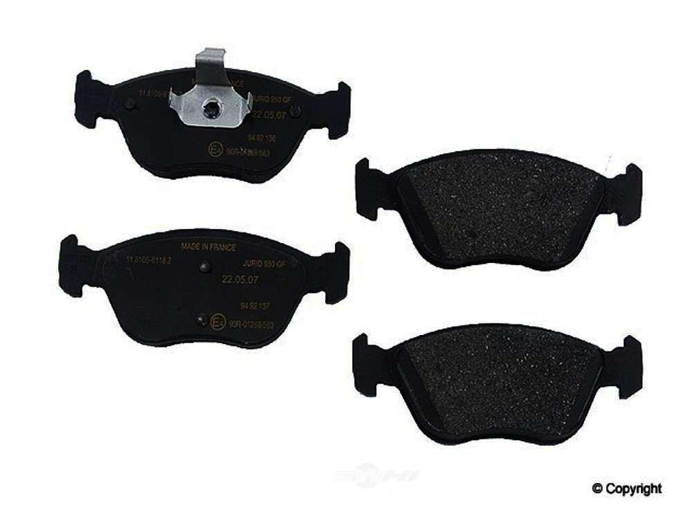 Genuine -  Disc Brake Pad Set (Front) - WDX 520 06180 001