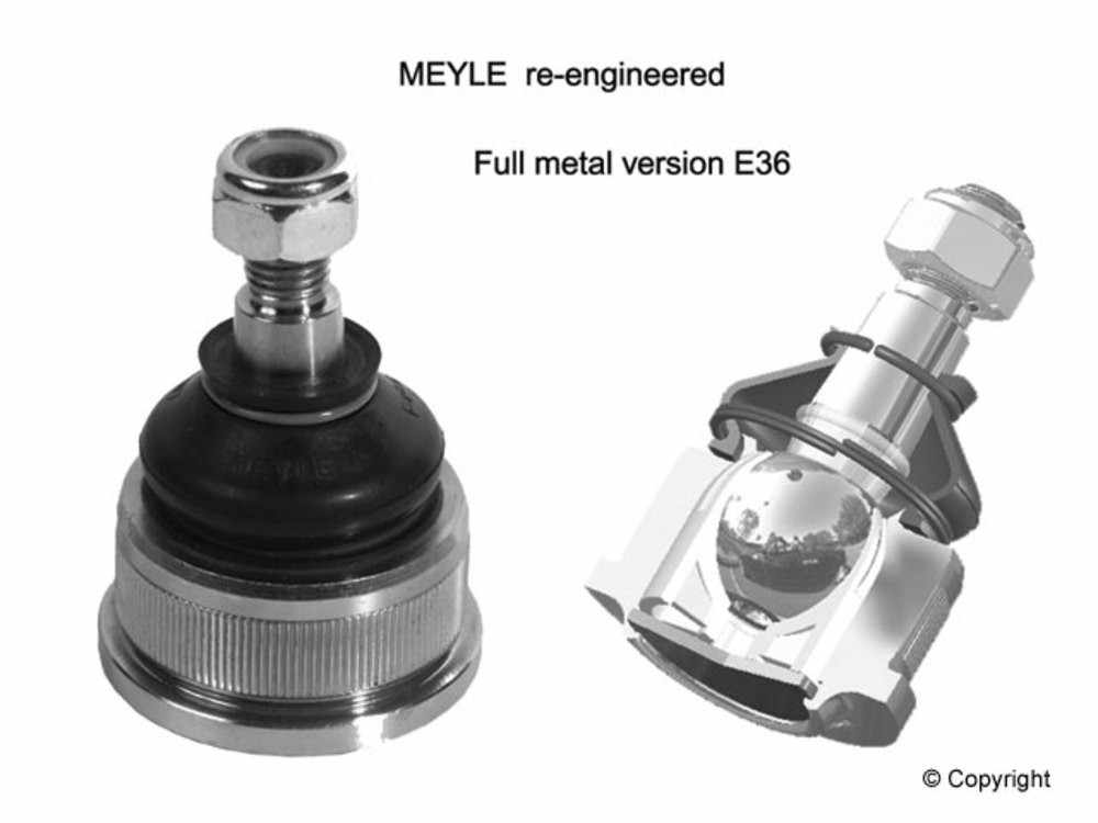 Meyle - Meyle HD Suspension Ball Joint (Front Lower Outer) - WDX 372 06004 502