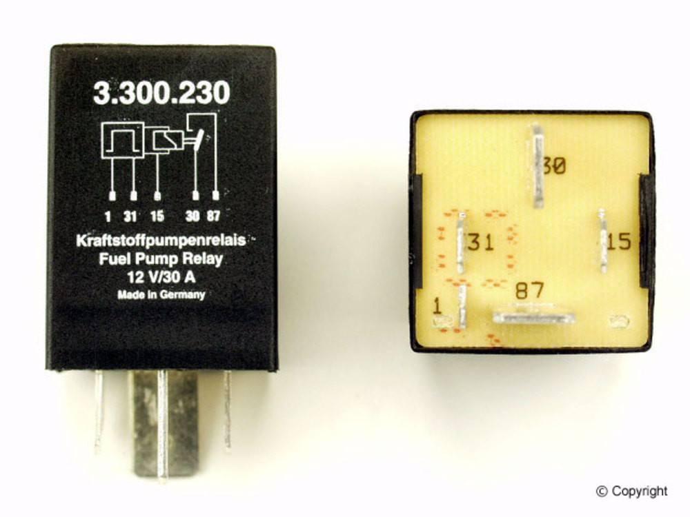 Fuel -  Pump Relay - WDX 835 54022 303
