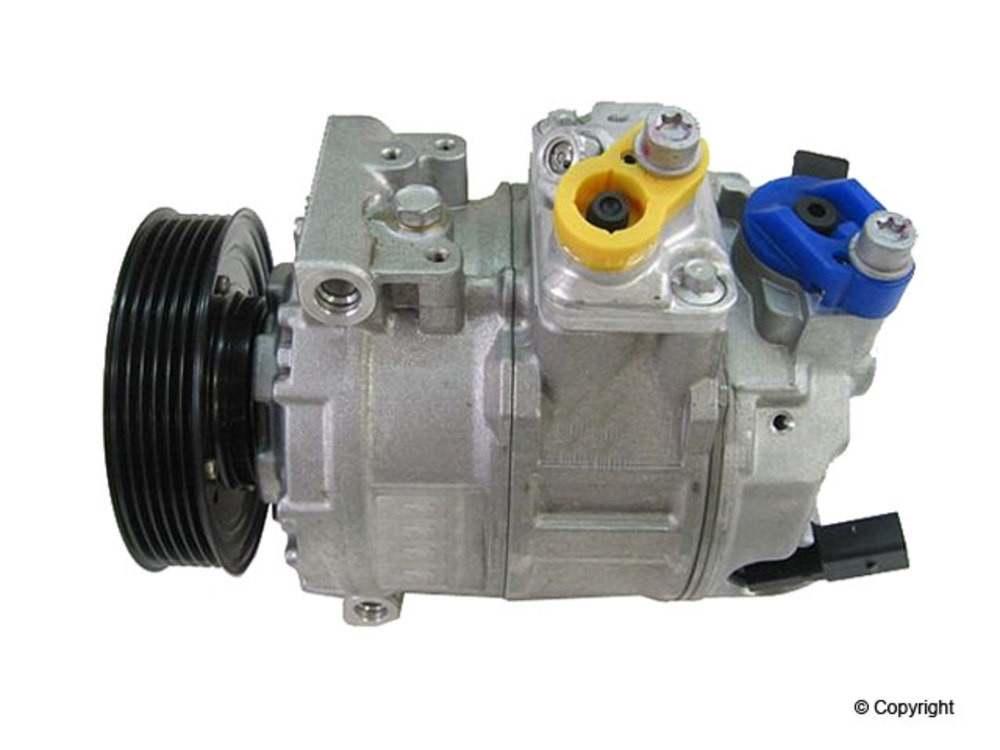 WD EXPRESS - Behr New A/C Compressor A/C Compressor - WDX 656 54012 148