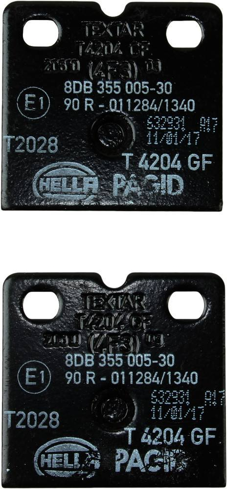 Pagid -  Parking Brake Pad Set - WDX 520 09710 345