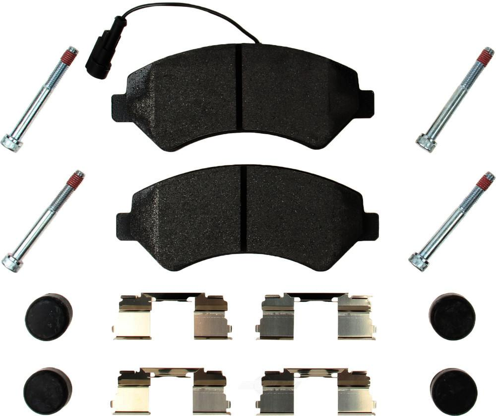 Pagid -  Disc Brake Pad Set - WDX 520 89730 345