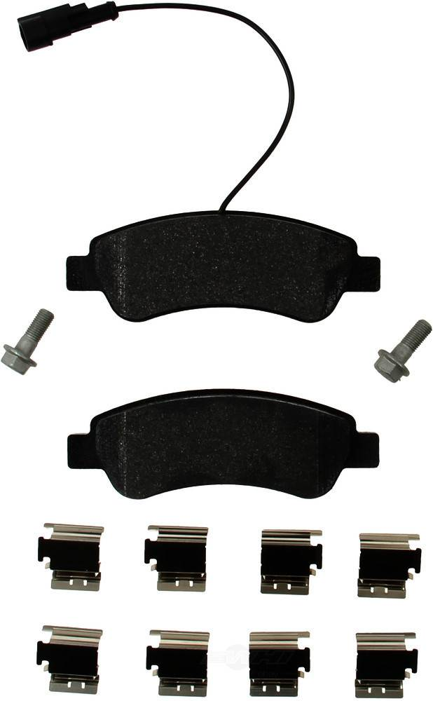 Pagid -  Disc Brake Pad Set - WDX 520 89740 345