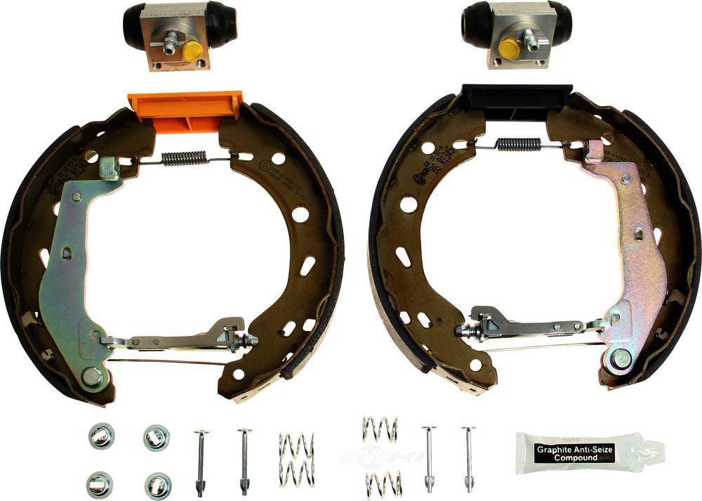 Pagid -  Drum Brake Shoe Kit Drum Brake Shoe Kit - WDX 521 33002 345
