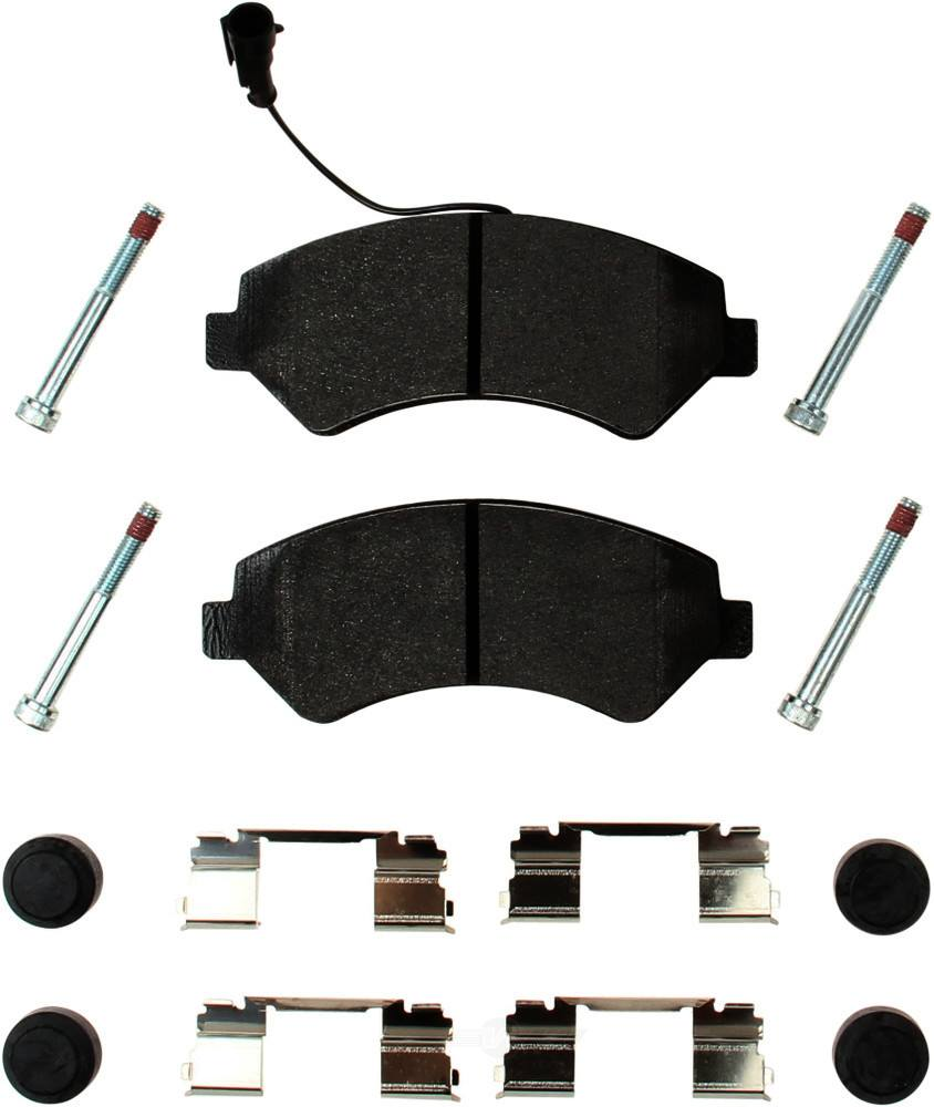 Pagid -  Disc Brake Pad Set - WDX 520 89720 345