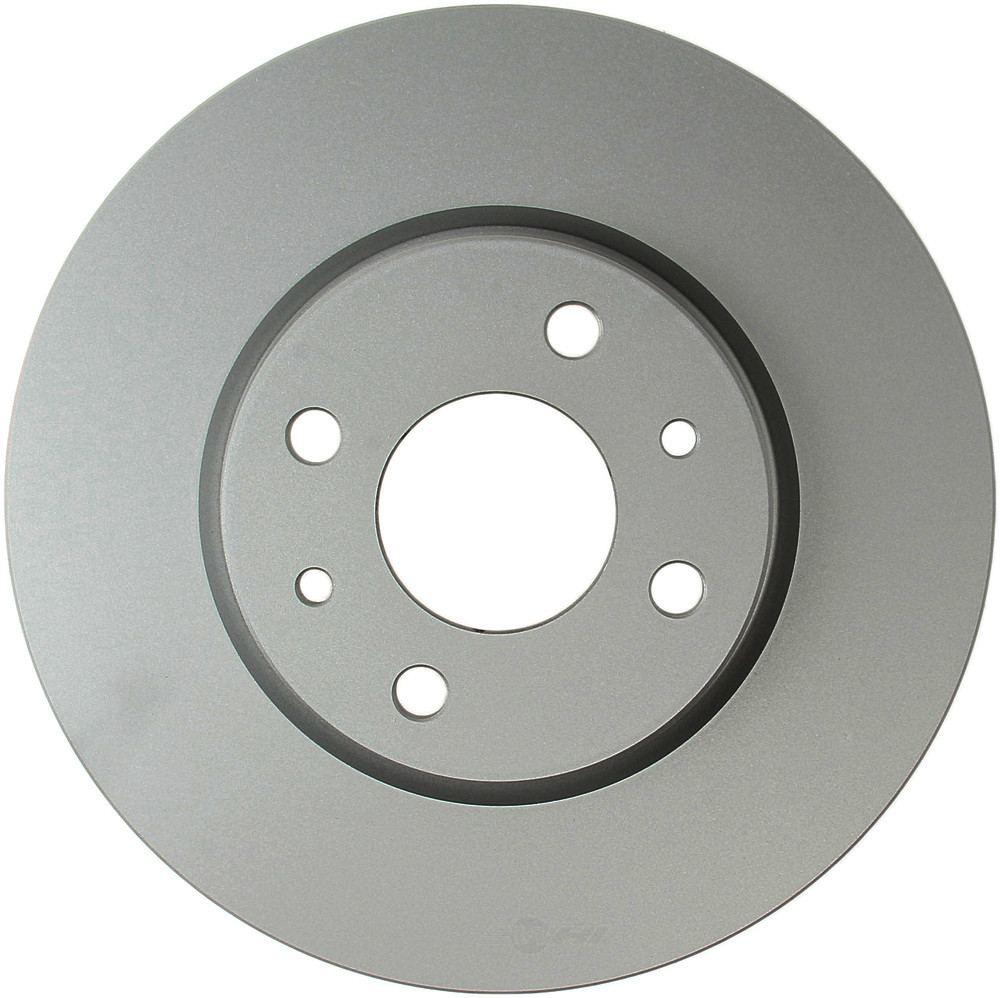 Meyle -  Disc Brake Rotor (Front) - WDX 405 17001 500