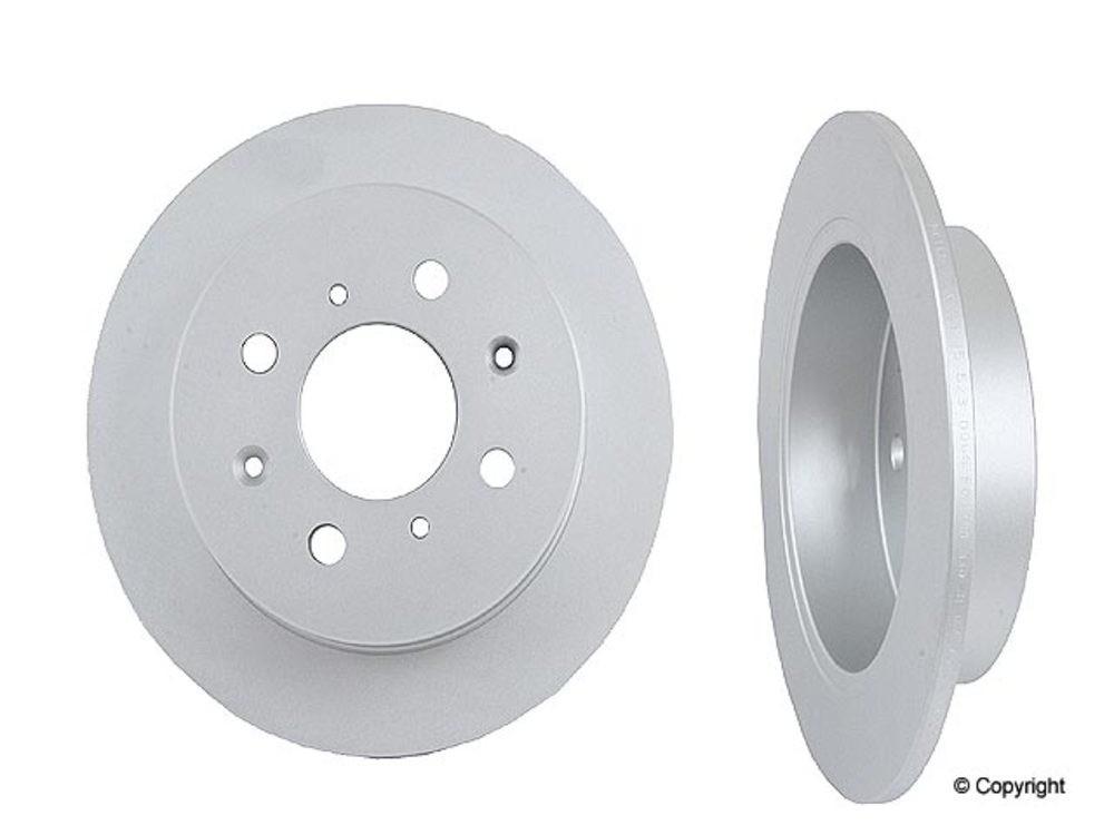 Meyle -  Disc Brake Rotor (Rear) - IMM 31-15 523 0006/PD