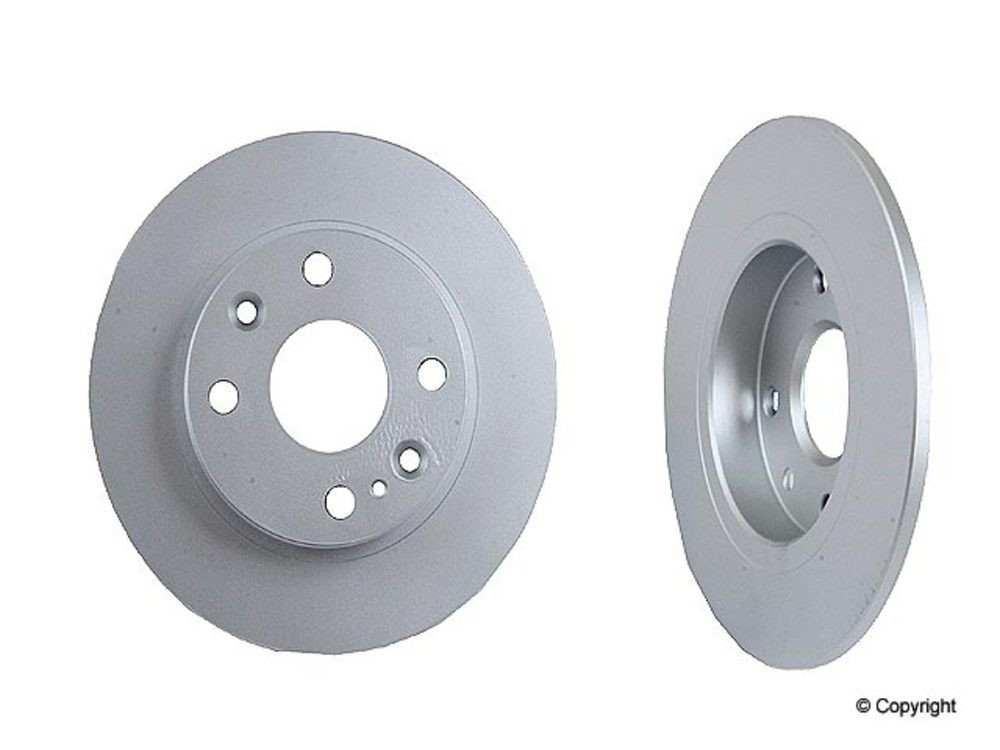 Meyle -  Disc Brake Rotor (Rear) - IMM 35-15 523 0008/PD
