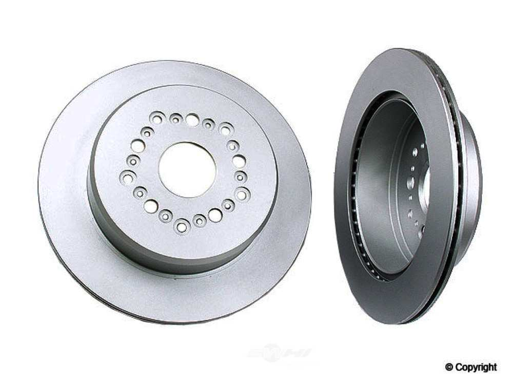 Meyle -  Disc Brake Rotor (Rear) - WDX 405 51059 500