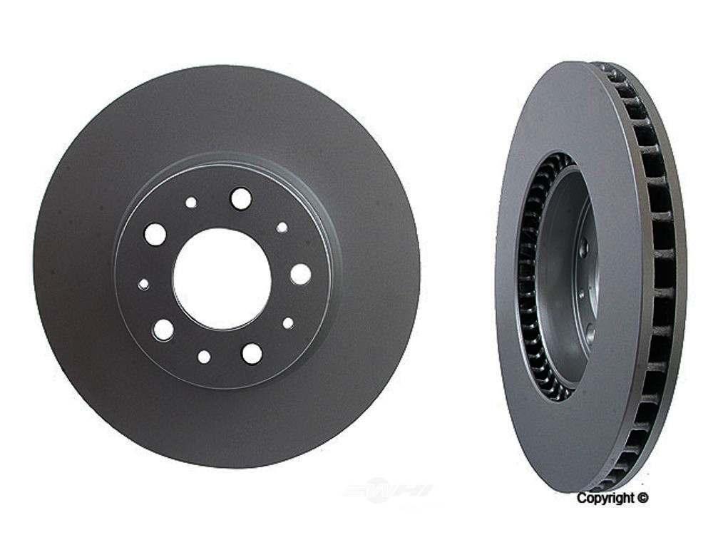 Meyle -  Disc Brake Rotor (Front) - WDX 405 53013 500