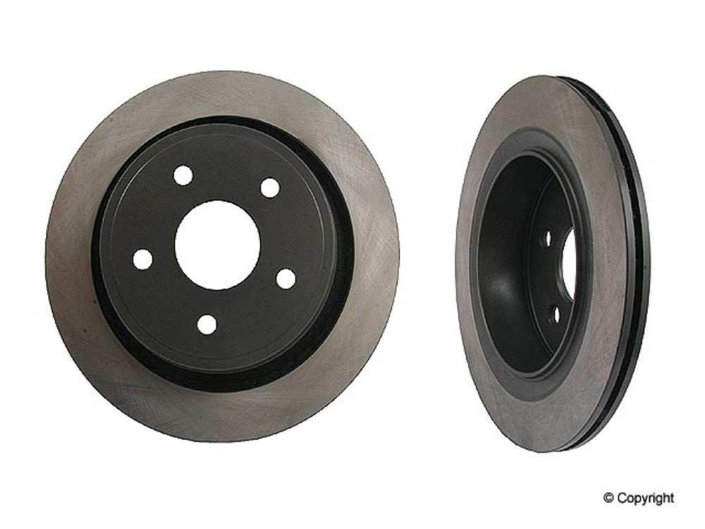 Original - Original Performance Disc Brake Rotor (Rear) - IMM 405 14 051